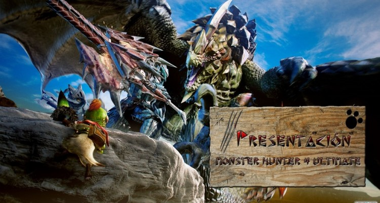 1501-13 Monster Hunter 4 Ultimate Presentación