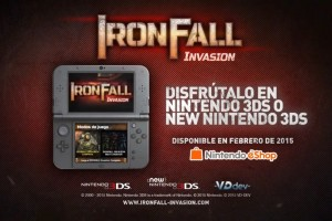 1501-14 IronFall Invasion Nintendo Direct 3DS 1