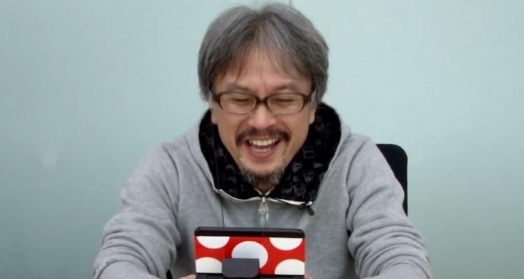1501-21 Eiji Aonuma jugando Majora's