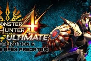 1501-27 Monster Hunter 4 Ultimate 3DS 001