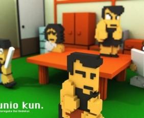 1502-26 Downtown Nekketsu Jidaigeki Cabecera 3DS 1