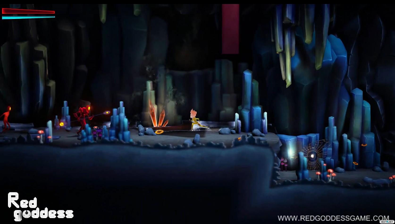 1503-14 Red Goddess Wii U 4