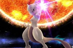 1504-14 Mewtwo Super Smash Bros Wii U 3DS 1