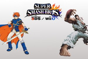 1504-15 Super Smash Bros. Ryu Roy Wii U 3DS 1