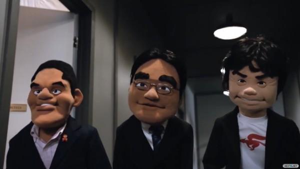 1506-16 Tridente Iwata Reggie Miyamoto Teleñeco - Peluche