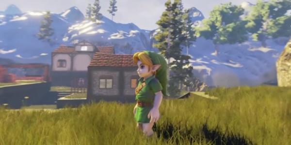 El proyecto fan de Zelda Ocarina of Time en Unreal Engine 4