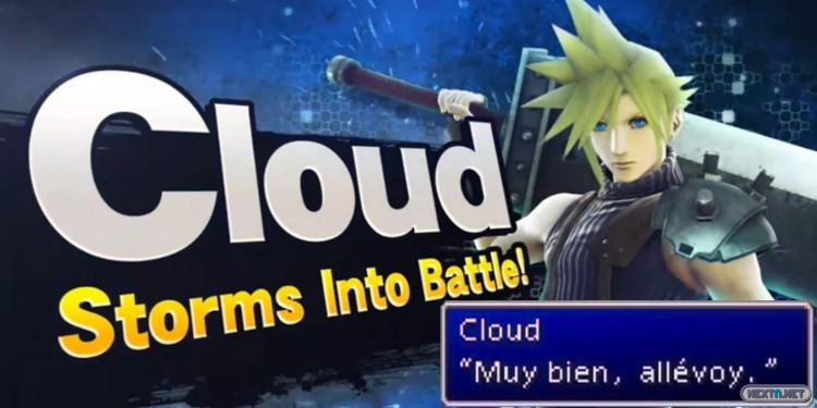 Super Smash Bros Cloud Strife
