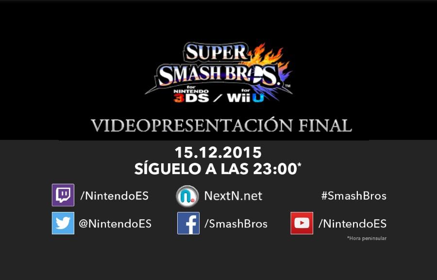 Videopresentación Final Super Smash Bros.