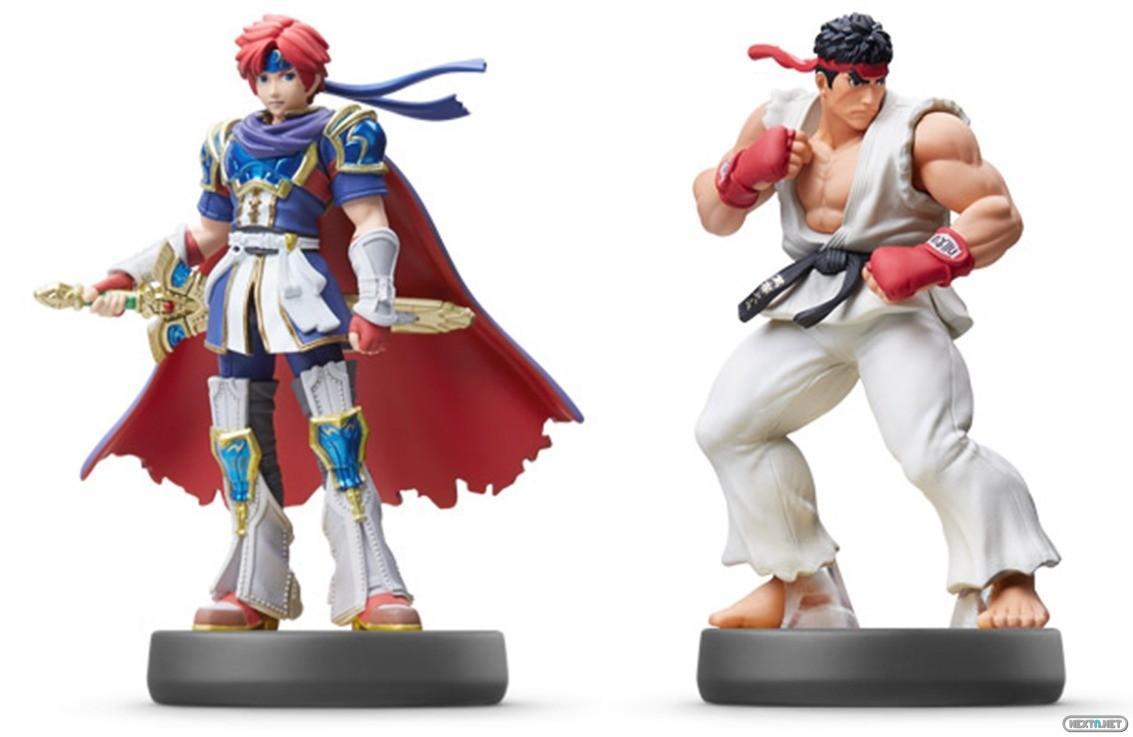 Figuras amiibo Roy Ryu Smash Bros