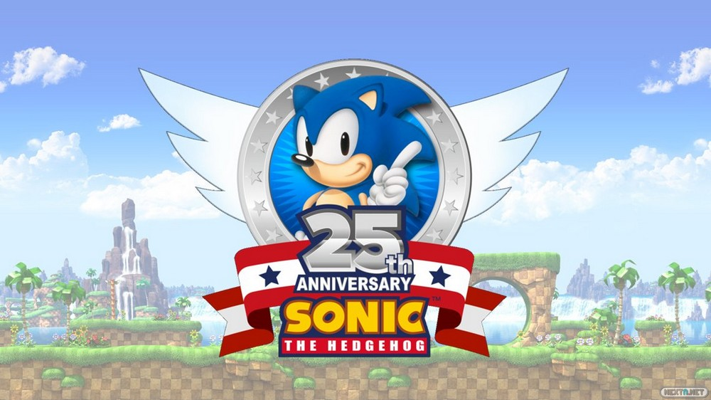 Sonic Logo 25 Aniversario