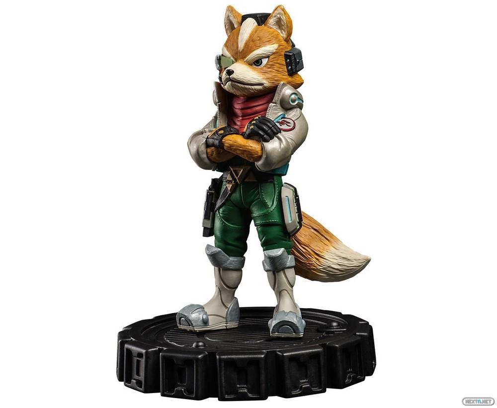 Estatua Edición Limitada Fox McCloud Star Fox