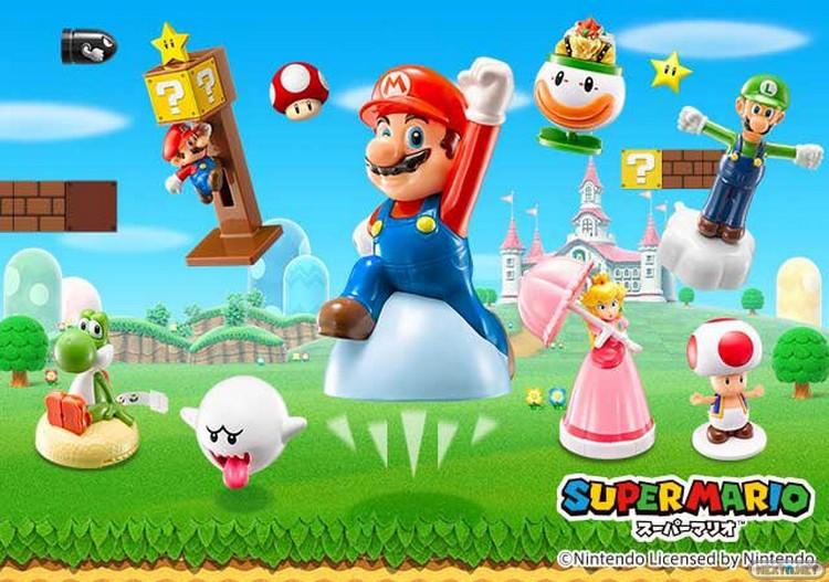 Juguetes Super Mario McDonald's Japón