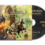 Así es el disco de la banda sonora de The Legend of Zelda: Twilight Pricess HD