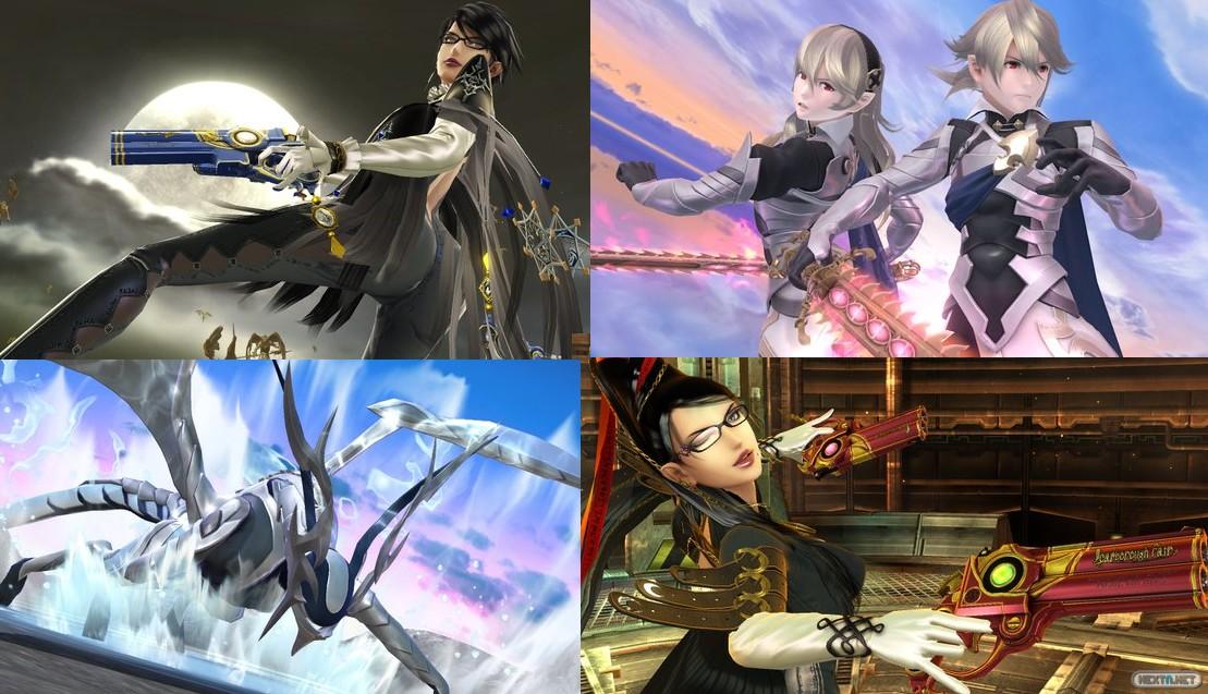 Bayonetta y Corrin Super Smash Bros. descarga