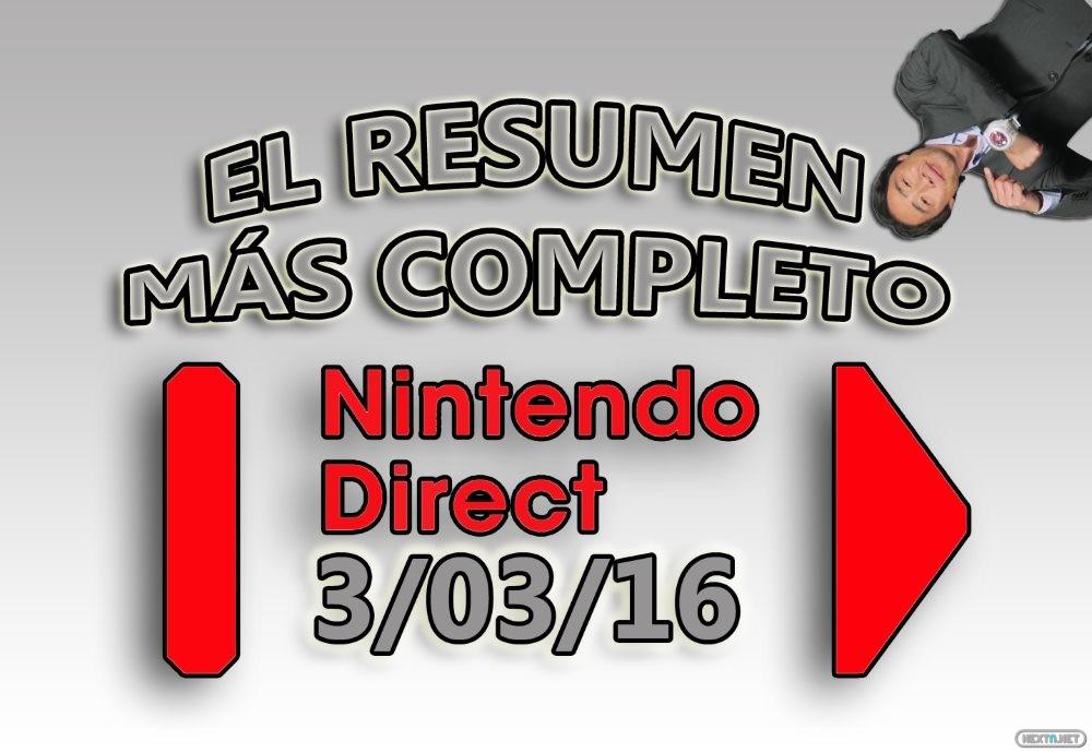 Resumen más completo Nintendo Direct 03-03-16
