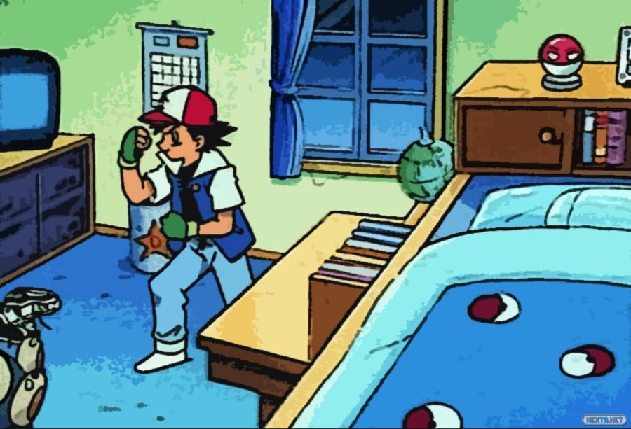 Habitación Ash Ketchum Pokémon