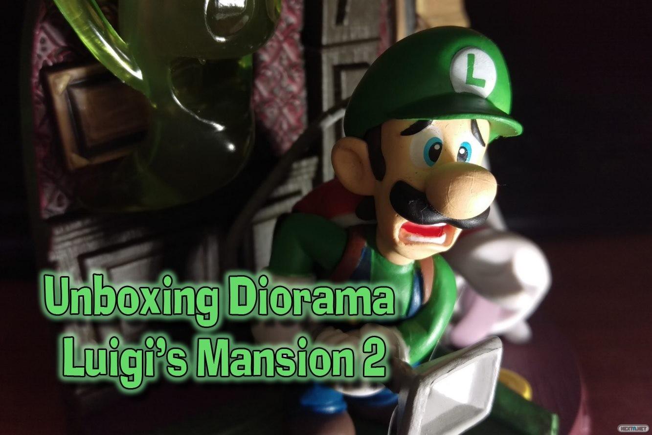 Unboxing Diorama Luigi's Mansion 2