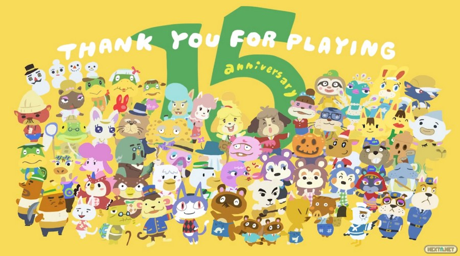 Animal Crossing 15 aniversario