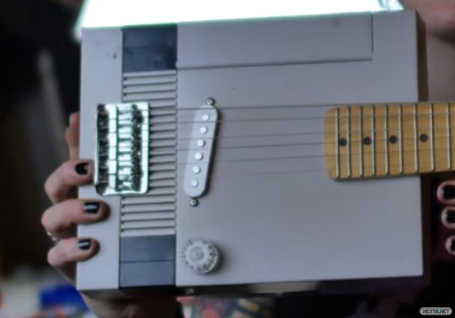 NES guitarra eléctrica