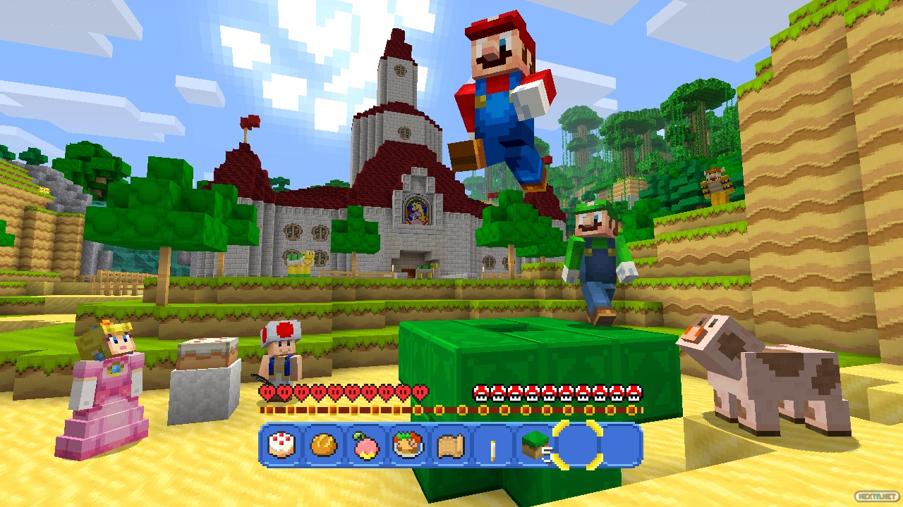 Minecraft Wii U Edition Super Mario Mash-Up