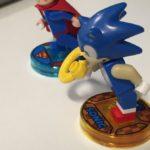 Así luce la figura de Sonic en LEGO Dimensions