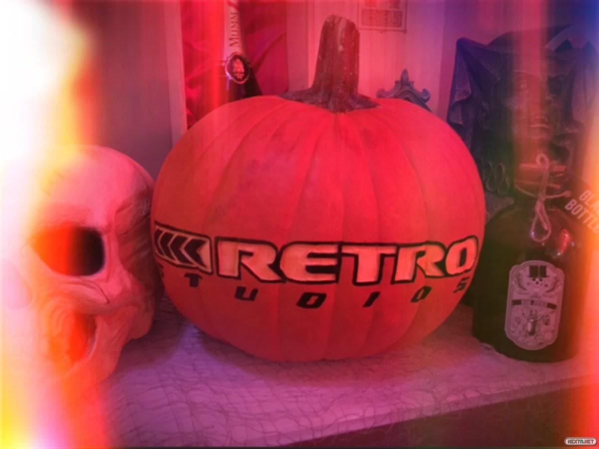 Retro Studios Halloween