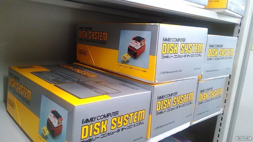 nintendo almacen famicom disk system