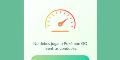 Pokémon GO Velocidad vas demasiado rápido