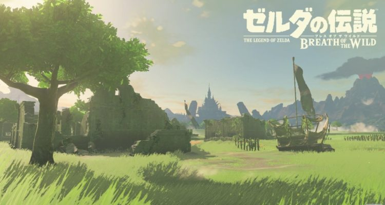 Zelda Breath of the Wild NX
