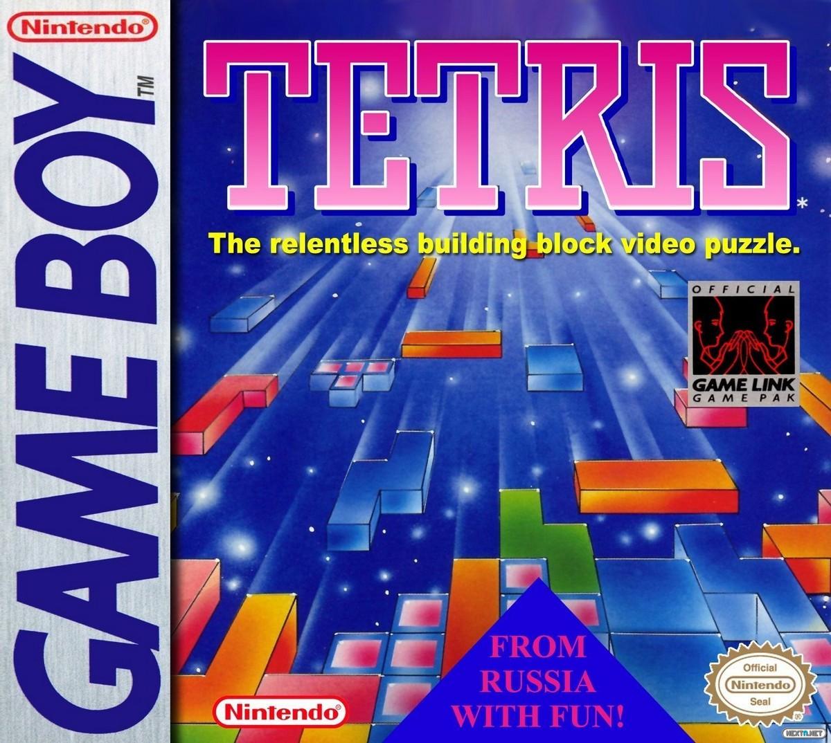 Carátula Tetris Game Boy
