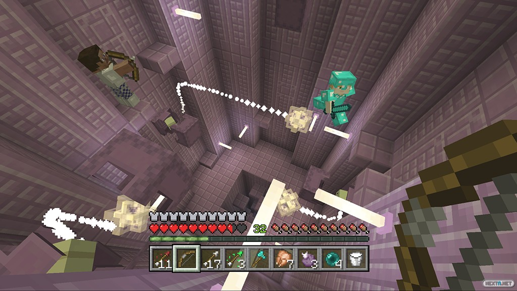 Minecraft Wii U actualización elitros ciudades 0