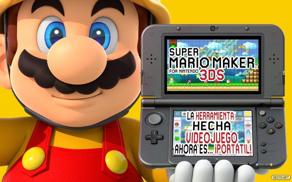 Super Mario Maker for 3DS avance