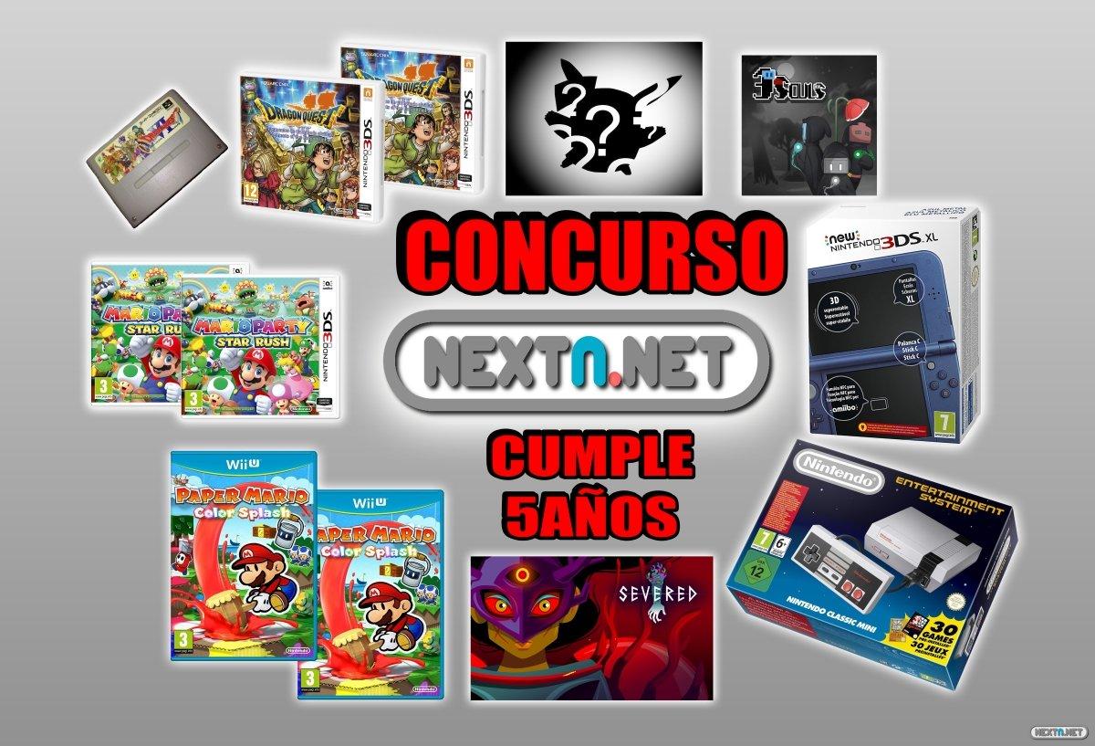 Concurso #5AniversarioNextN New 3DS XL azul