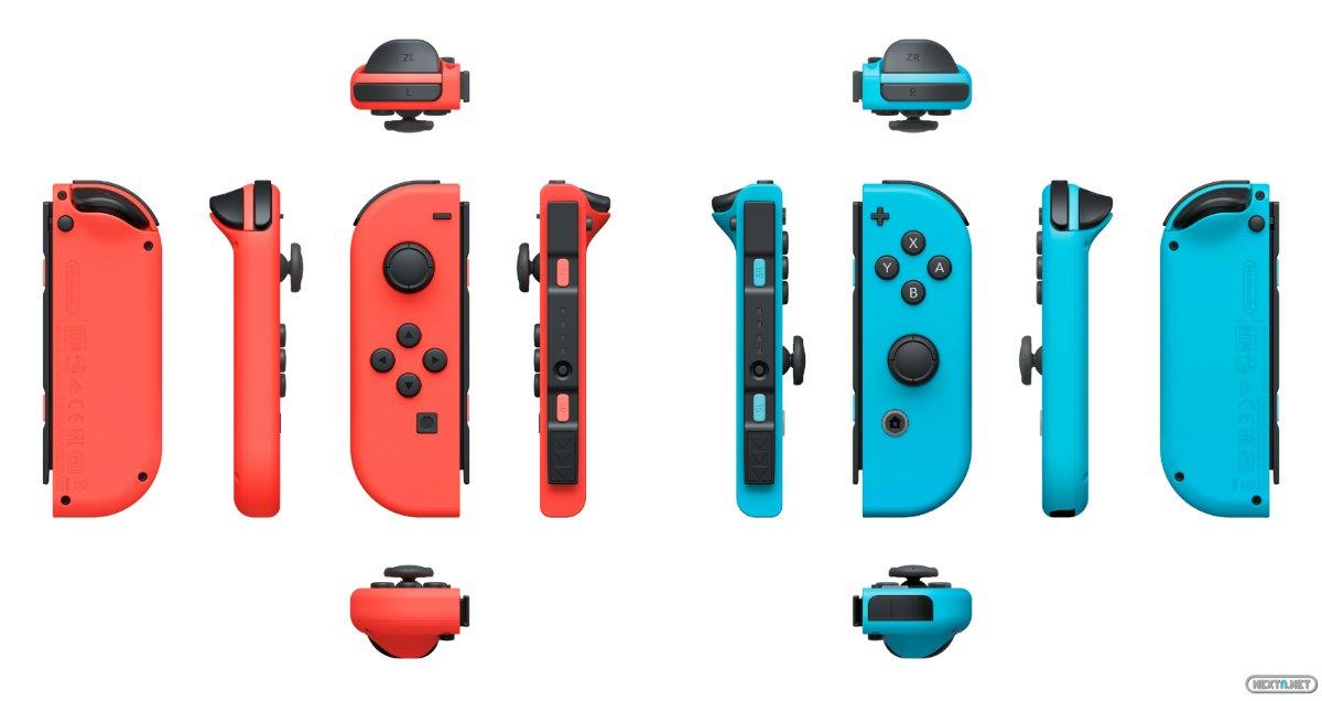 Switch Joy-Con colores