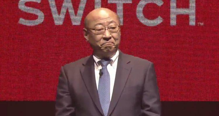 Tatsumi Kimishima Nintendo Switch