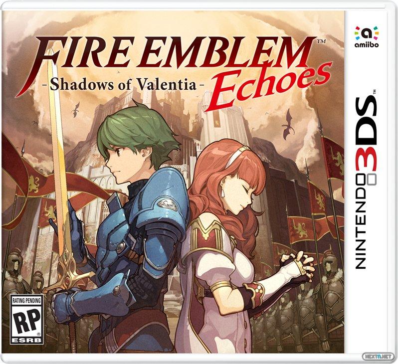 Fire Emblem Echoes boxart