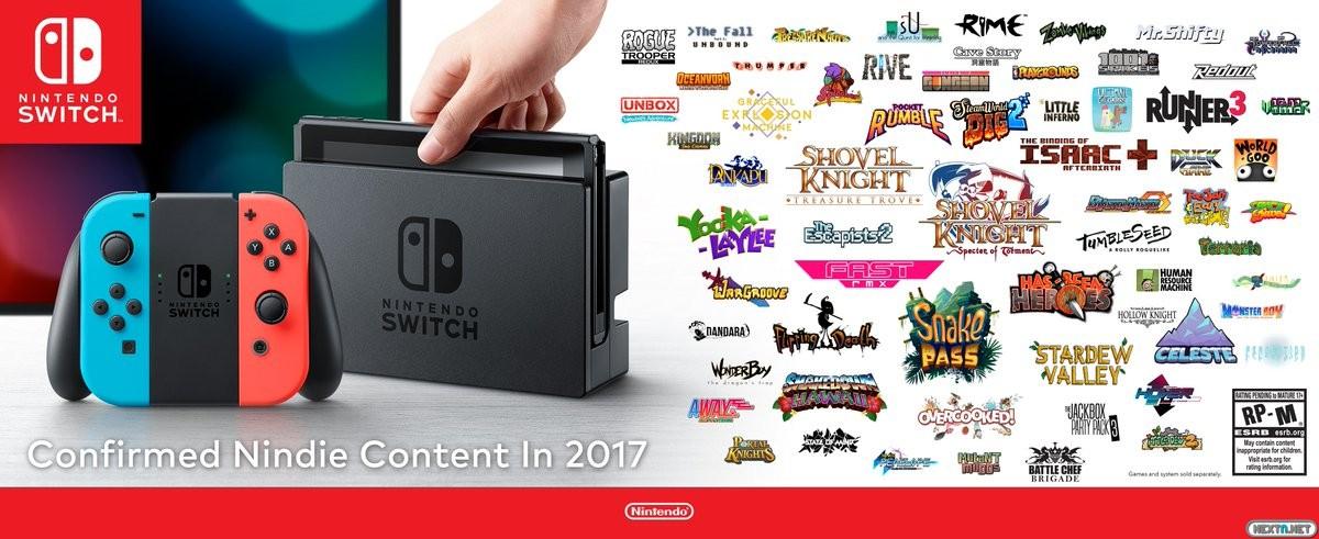Nindie Showcase Nintendo Switch indie
