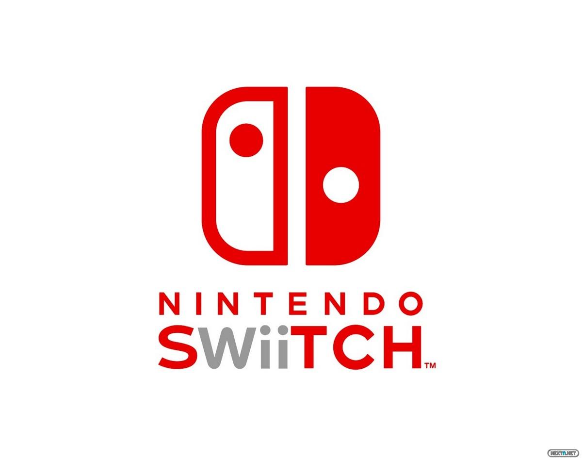 Logo de Nintendo Switch editado con el logo de Wii