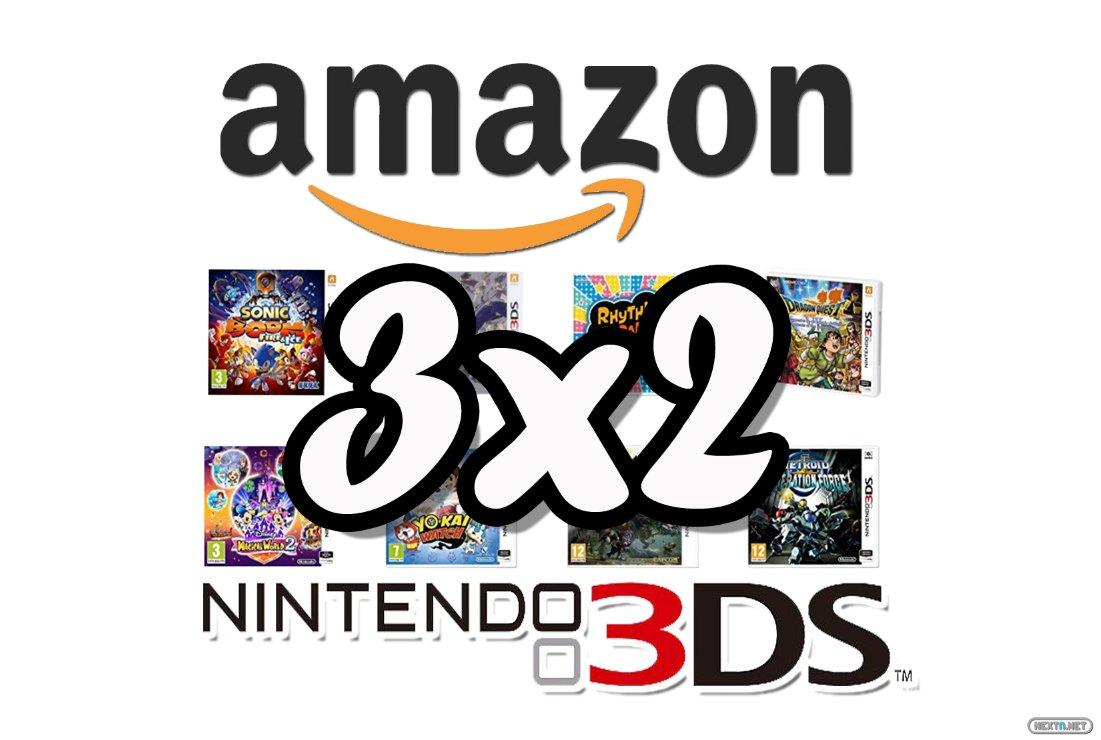 Amazon 3x2 3DS marzo 2017