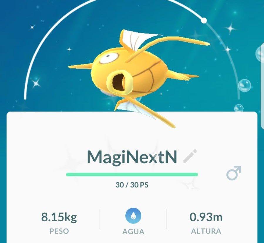 Magikarp Shiny Variocolor Pokémon GO NextN
