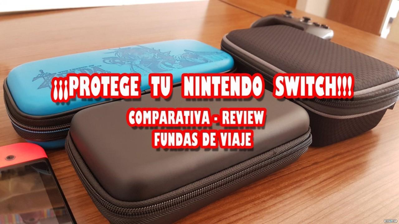 67d28e57b32 Vídeo comparativa - Review: Fundas de viaje de Nintendo Switch