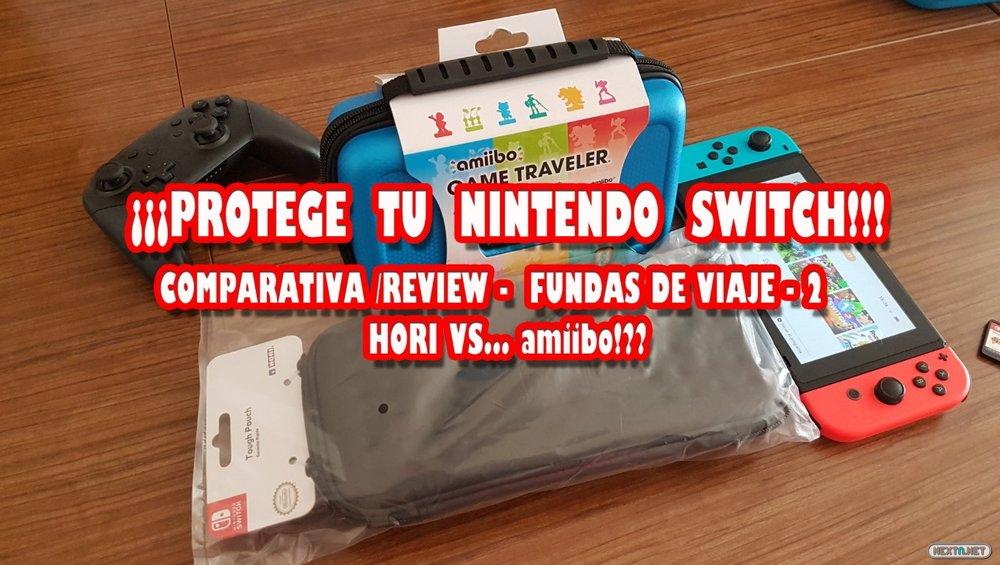 c97c623d98e Vídeo comparativa 2 - Review: Fundas viaje Nintendo Switch Hori Ardistel