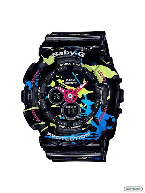 Casio presenta colección relojes Baby G BA 120SPL dedicada a