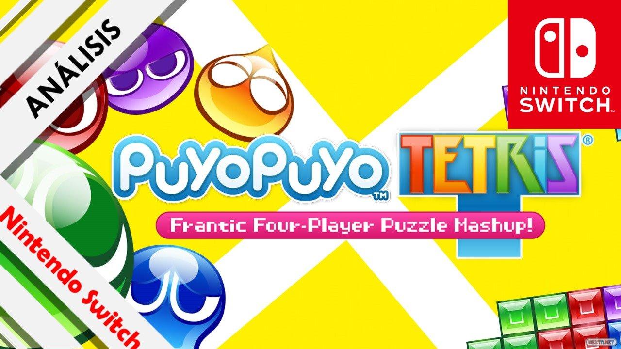 Análisis Puyo Puyo Tetris NIntendo Switch