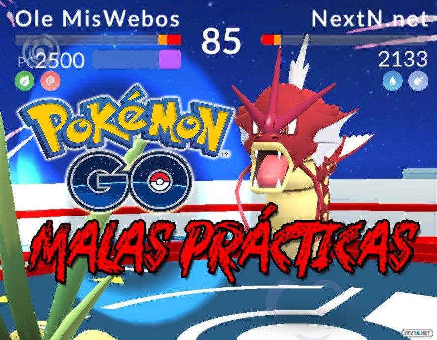 Pokémon GO Malas prácticas gimnasios