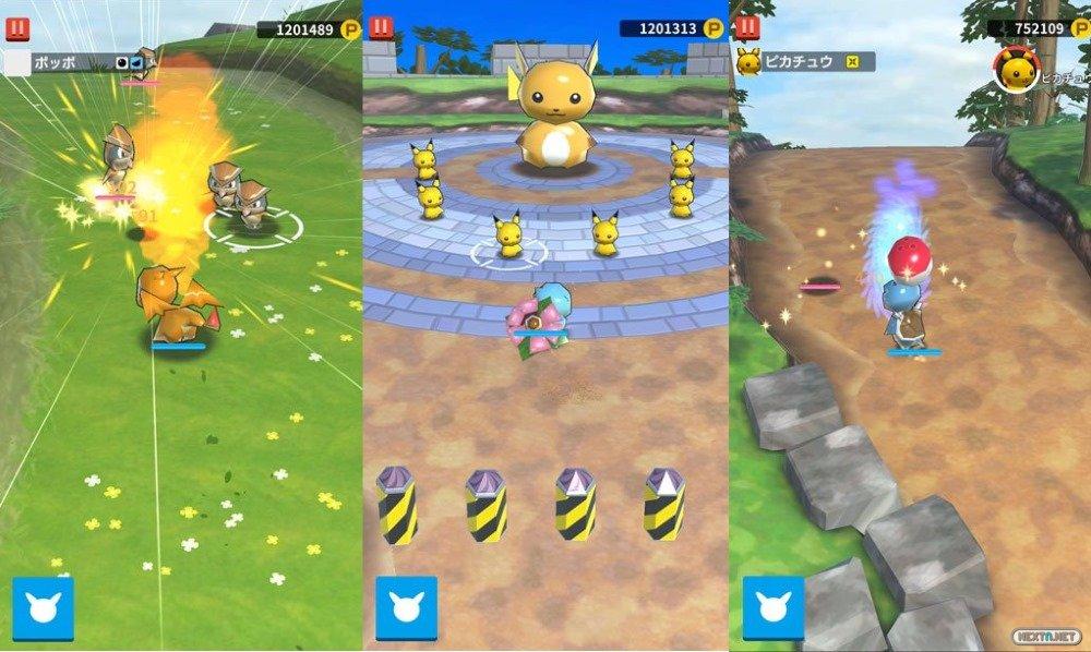 PokéLand móviles Pokémon Rumble