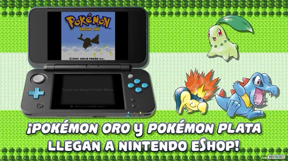 Pokémon Oro Plata Consola Virtual 3DS