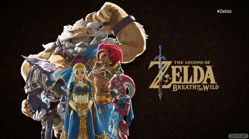 Zelda Breath of the Wild DLC La balada de los elegidos