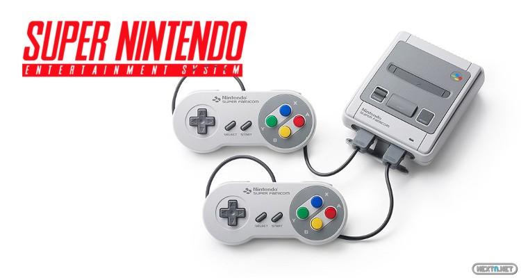 Nintendo Classics Mini Super Nintendo SNES 01
