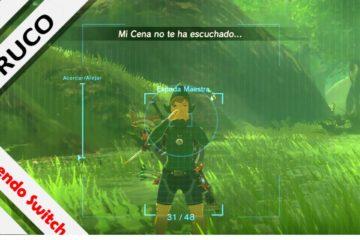 Truco Glitch cámara Zelda Breath of the Wild